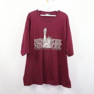 90s Mens XL New York New York Las Vegas T Shirt